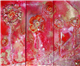 Red and Gold Poppy Triptych. Not for sale - Click to see more