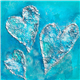 Hearts on Turquoise    - Click to see more
